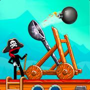 Катапульта Атака пиратов