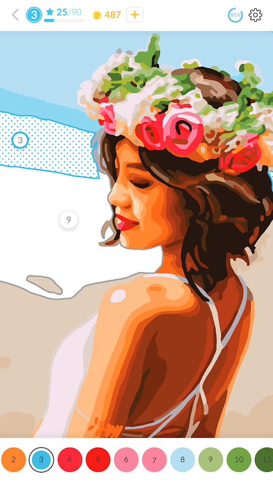 April Coloring v2.41.0 полная версия + MOD скачать на андроид